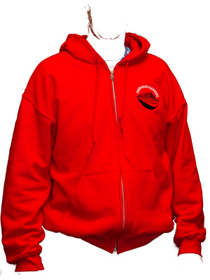 EgdonHH Zipped Hoddie red