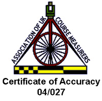 Weymouth 10 certificate of accuracy